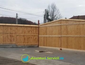 Gard din lemn la comanda