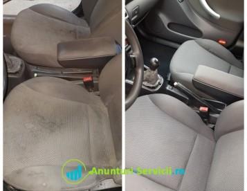 Curatare tapiterii auto piele sau textilă
