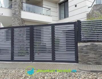 Garduri porți metalice