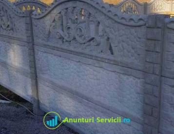 Gard Prefabricat din Beton - Tracic 1 - Transport Gratuit