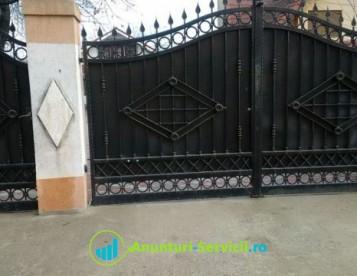 Gratii porti, scari balustrade si garduri metalice