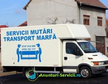 Mutari Arad Transport Marfa Transport Mobila