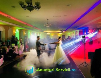 Oferim lumini ambientale/arhitecturale pentru nunta, botez, majorat