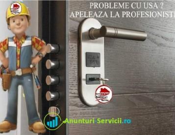Deblocari usi metalice si reparatii termopane