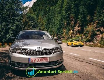 Închirieri Auto / Rent a Car - Skoda Rapid - Suceava