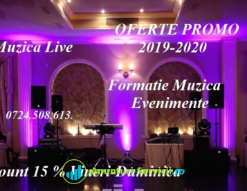 Formatie Nunta, Formatii Muzica Nunta Botez, Oferte Promo 2019