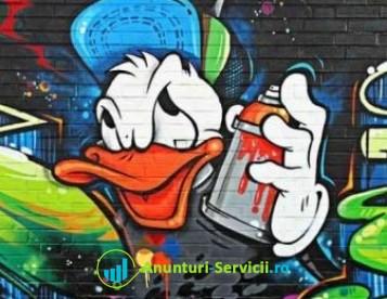 Lucrari Graffiti - Pereti Personalizati !