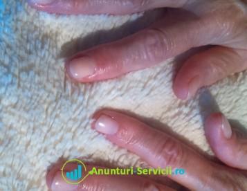 manichiura / pedichiura cu oja semipermanenta